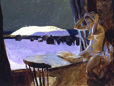 Jamie Wyeth Monhegan's Schoolteacher