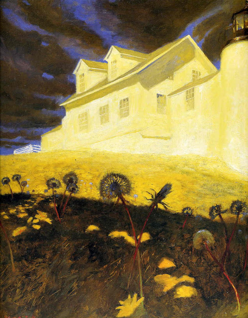 Wyeth, Jamie lighthouse-dandelions