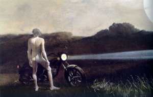 Andrew Wyeth Man and the Moon