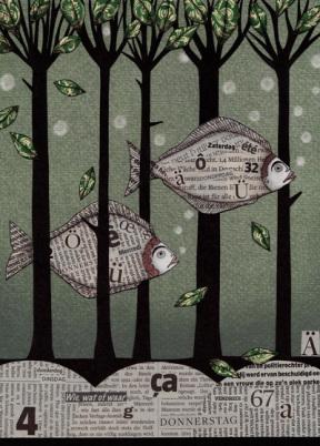 fish, art, nedia