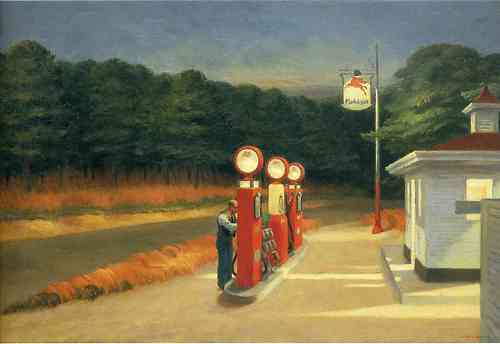 art, Hopper, media