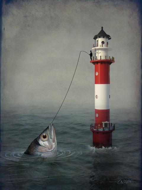 art, media, fish