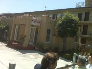 Charles Bukowski's home DeLongpre Avenue