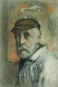 Degas self portrait 1895