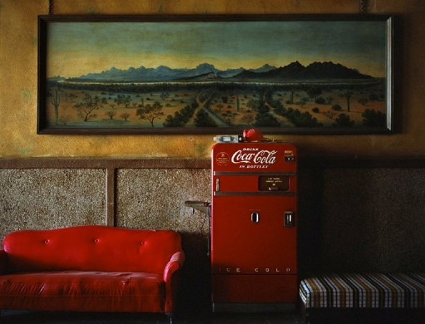 Wim Wenders Lounge Paintings Arizona 1983
